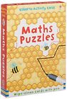 Maths Puzzles Wipe-clean cards with pen