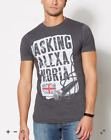 ASKING ALEXANDRIA Microphone T-Shirt **NEW music band concert tour Small Sm S image