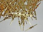 """CHANDELIER CUT GLASS CRYSTALS DROPS DROPLETS LIGHT PRISMS BEADS ANTIQUE BELL 2"""""""