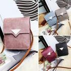Women Students Snap Closure Shoulder Bags Synthetic Leather Messenger C1MY