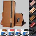 Slim PU Leather Magnetic Flip Stand Cover Case for Samsung A3 A5 2016 A7 2017