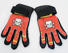 THE SIMPSONS FULL FINGER KIDS CYCLING GLOVES SMALL/MEDIUM RED AND BLACK