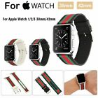 Replacement Wristwatch Sport Band Strap For Apple Watch Series 3/2/1 38mm/42mm