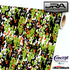 URBAN GREEN Digital Camouflage Vinyl Car Wrap Camo Film Decal Sheet Roll