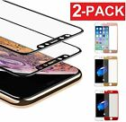 3D Full Coverage Tempered Glass Screen Protector for Apple iPhone...