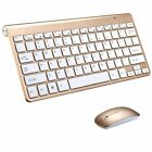 Wireless Keyboard +Mouse Set Waterproof For PC Computer USB Receiver