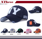 New Baseball embroidery Cap Hip-Hop Hat Adjustable NY Snapback Sport Unisex