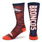 NFL For Bare Feet Jump Key Men's Crew Socks SZ L-6 TEAMS TO CHOOSE