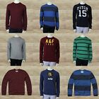 """Abercrombie & Fitch Men MUSCLE Long Sleeve Tee """"Catamount"""" Sizes L, XL"""