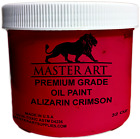 Oil Paint Large 32 Oz jars By Master Art Supplies