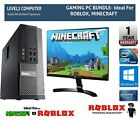 Gaming Pc Bundle Fast Dell Core I5 16gb Ram 2tb Hdd Windows 10 Computer Desktop