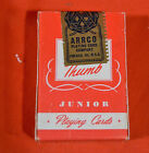 VINTAGE ARRCO MINIATURE PLAYING CARS RED BARN SEALED NEVER OPENED