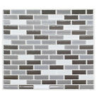Home Kitchen 3D Mosaic Bricks Style Self-adhesive Face ruin Paper Wall Sticker Great