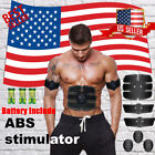 US SELLER SMART ABS STIMULATOR ABDOMINAL MUSCLE TONER ULTIMATE EMS BODY TRAINING