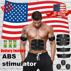 US SELLER SMART ABS STIMULATOR ABDOMINAL MUSCLE TONER ULTIMATE EMS BODY TRAINING image
