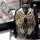 Kyпить 1Pair Decor Angel Wings Sequins Applique Motif Iron-On Embroidered Patch на еВаy.соm
