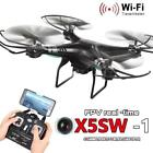 UK STOCK X5SW-1 Wifi FPV RTF 2.4G 4CH RC quadcopter Camera Drone with HD Camera