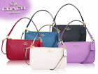 Coach F25591 Crossgrain Leather Top Handle Pouch Crossbody bag