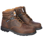 Carhartt Mens 6 inch Safety Toe Work Boot Brown Style CMW6274 Pick size