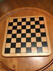 "ALL WOOD CHECKERBOARD/CHINNESE CHECKERS 11.5""x11.5""x3/4"" Game Board."