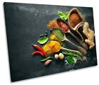 Herbs Kitchen Spices Café Picture SINGLE CANVAS WALL ART Print