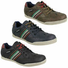 LAMBRETTA HARRISON MENS ROUND TOE LACE UP BROGUE CASUAL EVERYDAY TRAINERS SHOES