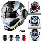 "New motorcycle helmet Iron Man ""Masei"" open face half helmet High quality Biker"