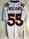 NFL DJ WILLIAMS Denver Broncos Authentisch American Football Hemd Trikot