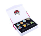 Pokemon Gym Badges Pins Kanto Johto Hoenn Sinnoh Unova Kalos New Box Set Choose