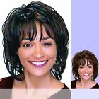 DENVER Motown Tress - Synthetic Mono Front Full Wig in DARK BROWN