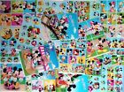 8 STICKERBOGEN 9x13 CM (FROZEN - SAILOR MOON - SOFIA - MICKEY MOUSE) ANIME COMIC