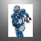 Calvin Johnson Detroit Lions Poster FREE US SHIPPING $30.0 USD on eBay