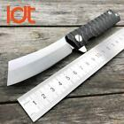 LDT Twosun Tanto Folding Knife D2 Blade Steel Handle Tactical Knives Camping