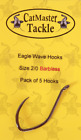 CatMaster Eagle Wave Hooks Barbless