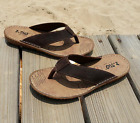 Men's Summer Slipper Sandals Genuine Leather Sneakers Beach Flip Flops Shoes Hot