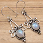 925 Silver Plated GEMSTONE Old Style Earrings ! Online Jewelry Store