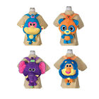 "Children' 17"" Backpack Big Head Happy Kritters Plush Travel Buddies Bag Boy Girl"