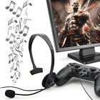 Black Wired Gaming Game Headset Earphone For Playstation PS4 With VOL PortableJU