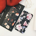 Retro Rose Flower Phone Case For iPhone X 8 7 6S Plus With Finger Ring Kickstand