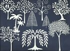 3 GROUPS COMBINED - TREES DIE CUTS* SUB-SETS LOTS 4 - 20 PCS. FAMILY LEAVES READ