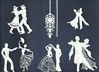 4 GROUPS COMBINED SCENE DANCING BALLET DIE CUTS* SUB-SETS LOTS 4 - 24 PCS. READ