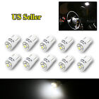 10X BRIGHT SHINE T10 194 LED REPLACEMENT LIGHT BULBS FOR INT/EXT 5 1210 SMD CHIP