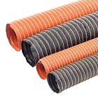 25mm~ 102mm Flexible Silicone Ducting Hot/Warm Air Silicon Heater Pipe 3ft 1M