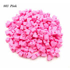 10PCS 14mm Silicone Heart Beads Teething Chew DIY Chewable Necklace Baby Teether