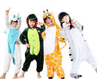 Children Animal Cosplay One piece Pajamas Kigurumi Unisex Costume Sleepwear