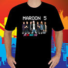 New Maroon 5 Red Pill Blues Tour Logo 2018 Men's Black T-Shirt Size S to 3XL image