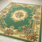 NEW LIGHT GREEN CLASSIC TRADITIONAL LARGE RUG ORIENTAL DYNASTY 12MM THICK RUG