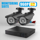 960P HD IR CCTV Camera Security System Outdoor Video Recorder 4CH 1080N DVR KIts
