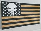 Punisher Skull American Flag Gun Concealment Cabinet Hidden Firearm Storage Safe