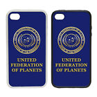 WTF | United Federation Of Planets | Rubber or plastic phone cover case | #2